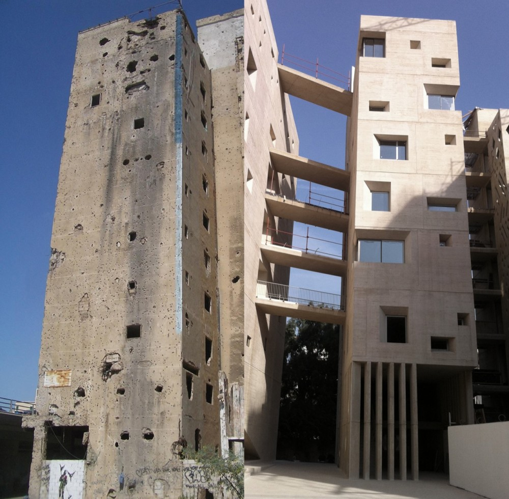 A new campus for usj beirut fashion art from the middle for Uni architektur
